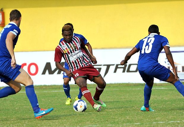 Mohun Bagan sink Bengaluru FC 4-1 in the I-League