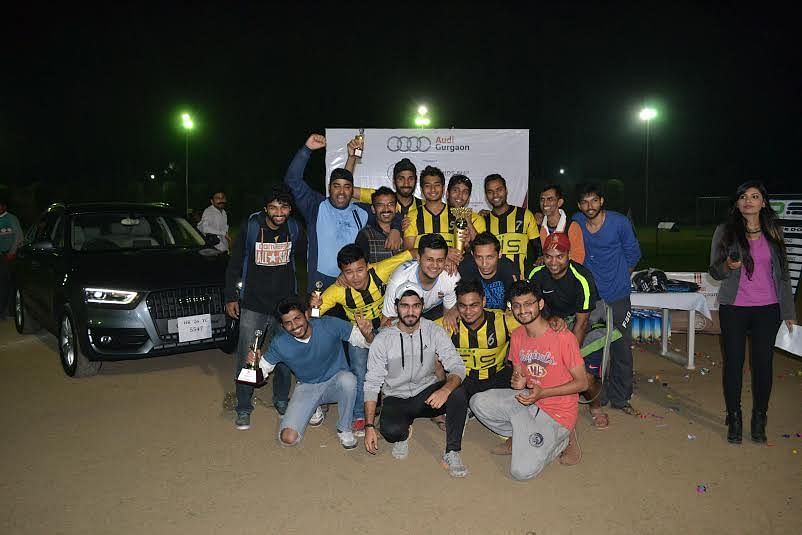 Fidelity Information Services India win their first ever Legends Cup