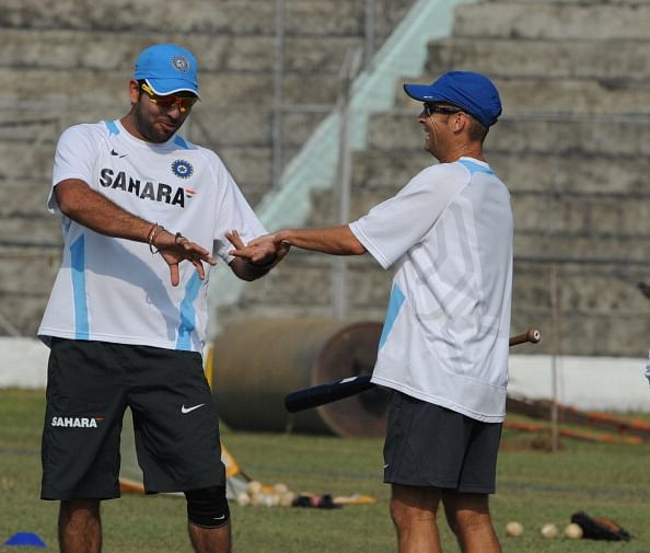 Yuvraj Singh delighted to be reuniting with Gary Kirsten at Delhi Daredevils