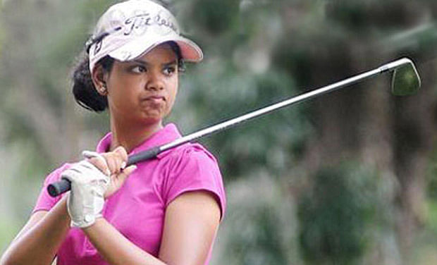 Vani Kapoor swings to lead in the opening round of fifth leg in the Hero Women's Professional Golf Tour