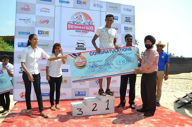 Mandar Divse, Nikita Prabhu Swimmathon 2015, gear up to represent India in FINA World Championship 2015