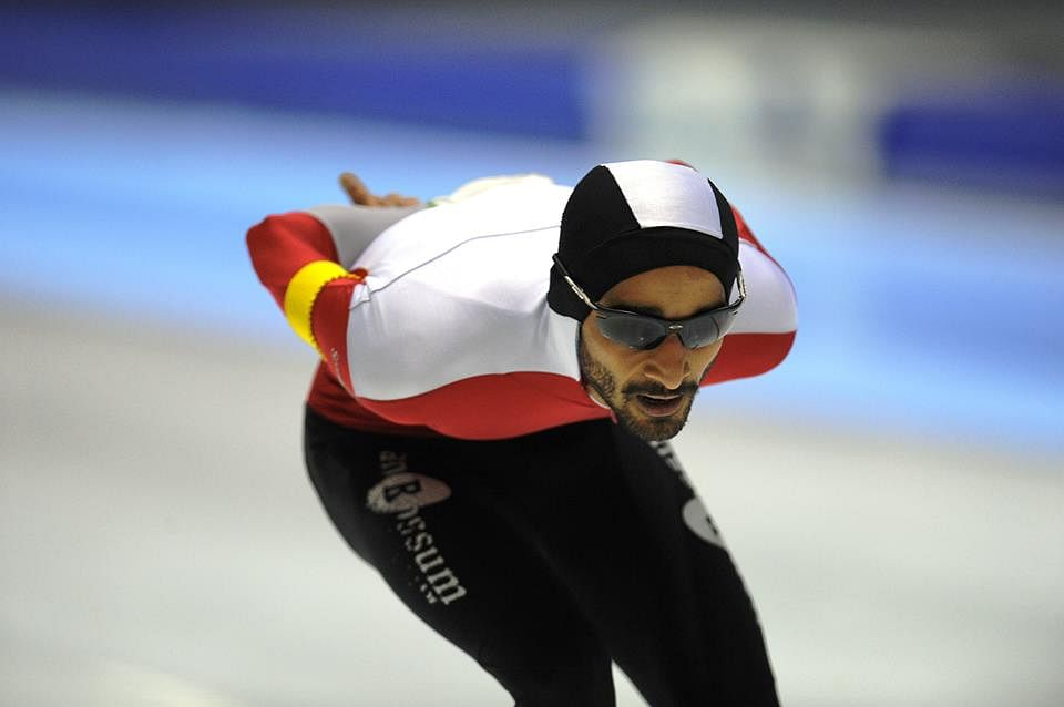 No country for winter sports: The story of India's No. 1 speed skater Vishwaraj Jadeja