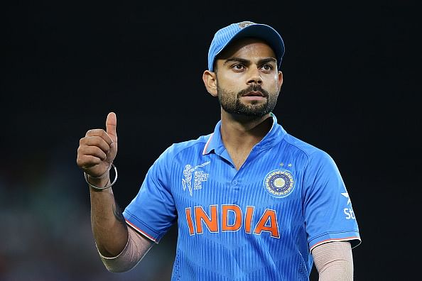 Virat Kohli only Indian cricketer to feature in People's XI for World Cup 2015