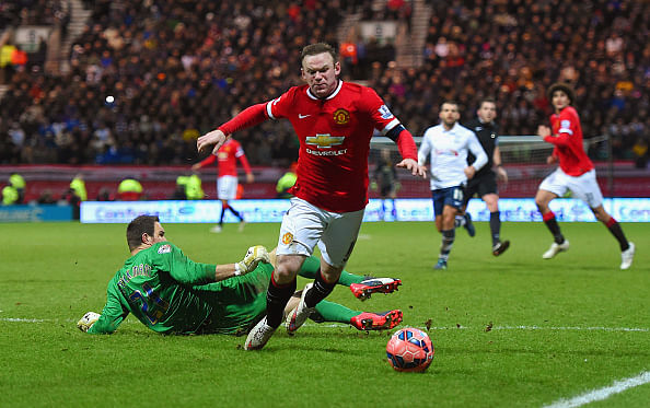 Rooney has apologised to me for diving: Preston goalkeeper