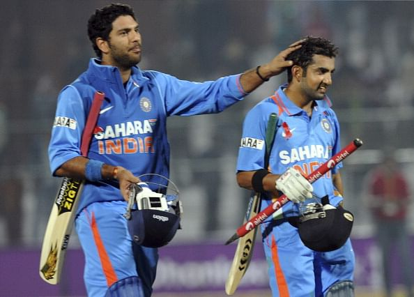 Disappointing to miss out on World Cup berth: Yuvraj, Gambhir