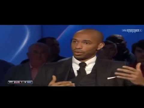 Video: Thierry Henry believes Arsenal are in title race while Manchester United may not make Top 4
