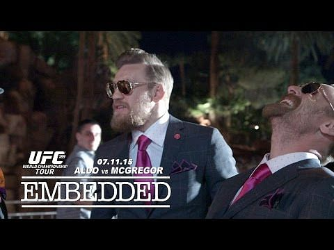 Video: UFC 189 World Championship Tour Embedded: Vlog Series - Episode 3