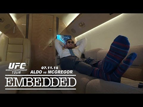 Video: UFC 189 World Championship Tour Embedded: Vlog Series - Episode 4