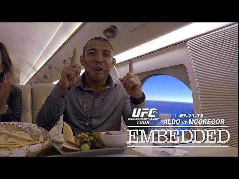 Video: UFC 189 World Championship Tour Embedded: Vlog Series - Episode 5
