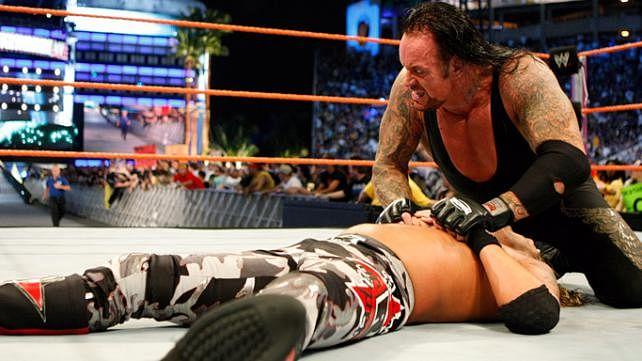 Resultado de imagem para edge undertaker wrestlemania 24