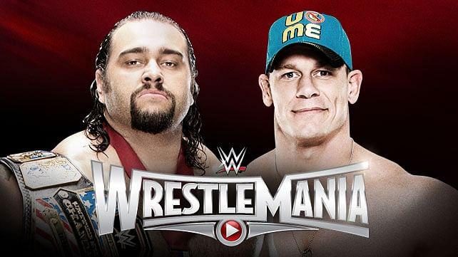 WWE WrestleMania 31: US Championship Rusev vs John Cena - Prediction and Analysis