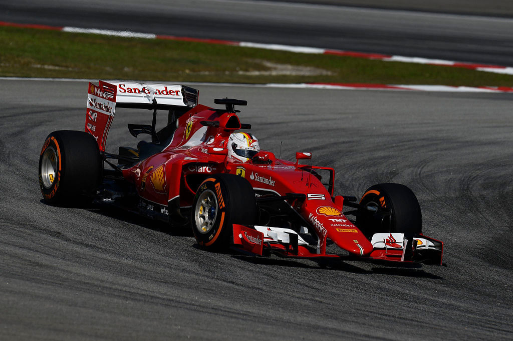 Vettel targeting race victory after qualifying second