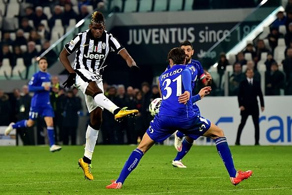 Video: Paul Pogba's wonderful volley helps Juventus defeat Sassuolo