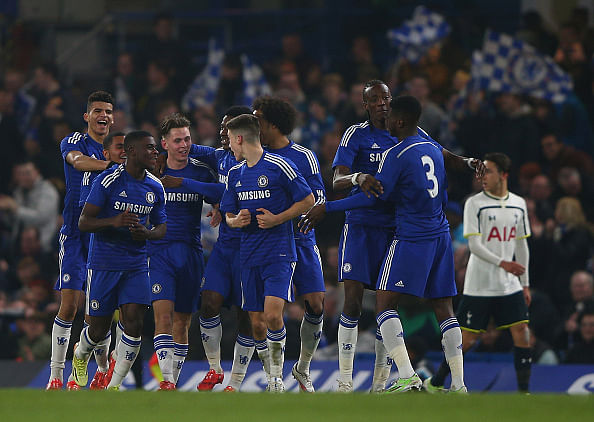 Chelsea U18 pulls off phenomenal comeback against Tottenham to reach Youth Cup final