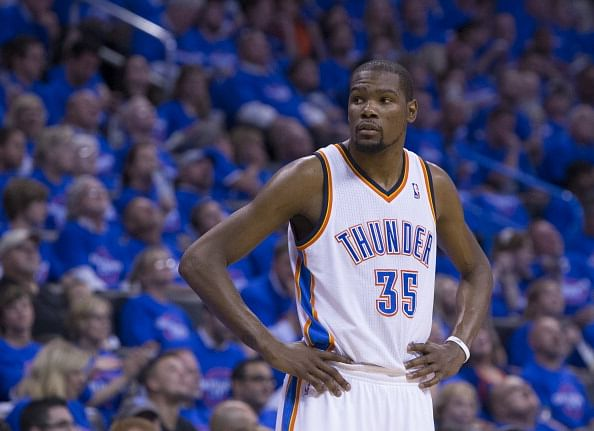 Kevin Durant ruled out of action indefinitely