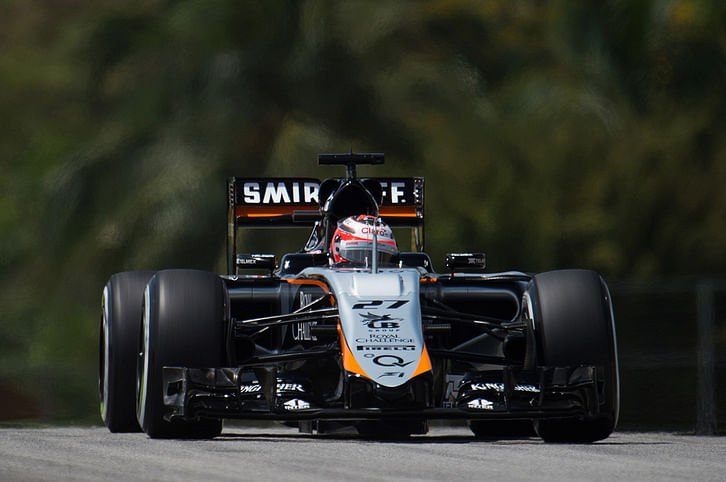 Nico Hulkenberg: Q3 would have been difficult in dry