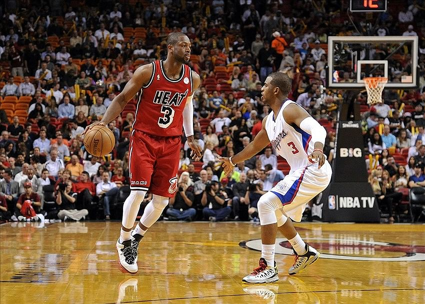 Dwyane Wade and Chris Paul named NBA Players of the Week