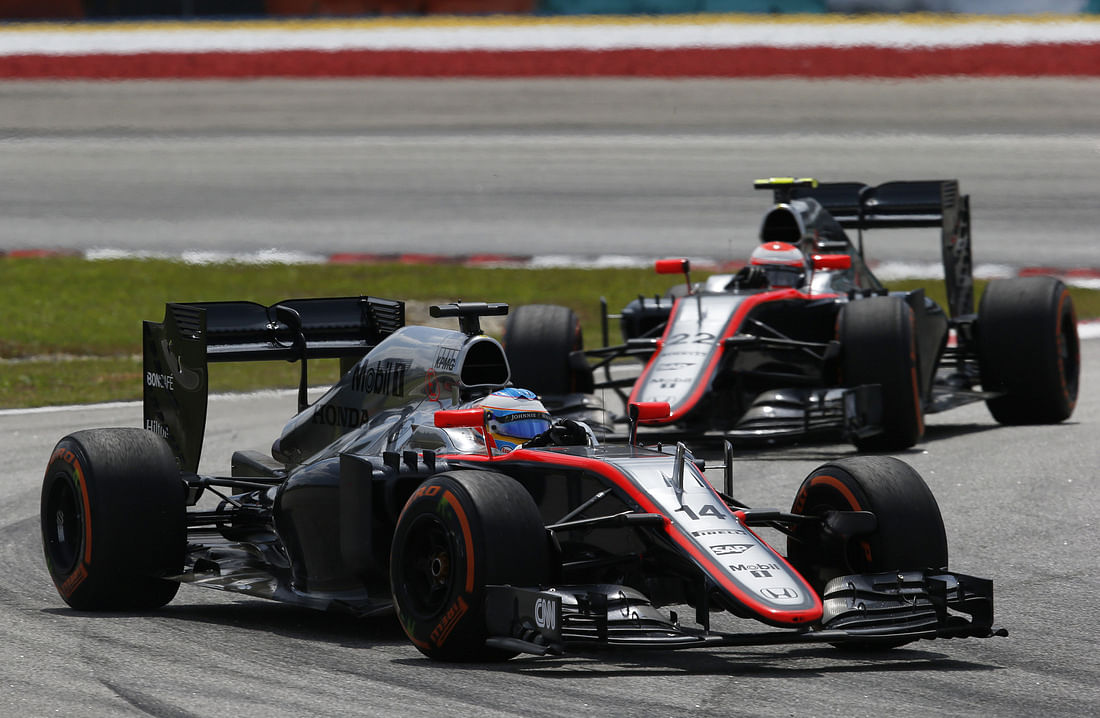Fernando Alonso surprised with McLaren's race pace