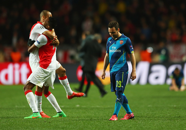 Highlights: Monaco 0-2 Arsenal (3-3 agg.), Gunners knocked out on away goals