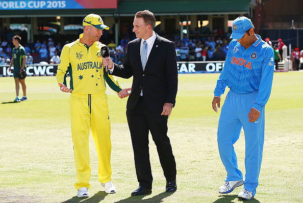 ICC Cricket World Cup 2015: Australia opt to bat against India