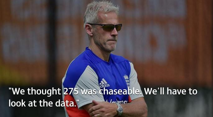 England's World Cup failure: Data suggests otherwise, Peter Moores