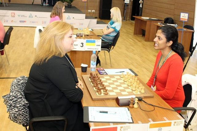World Women's Chess: Harika Dronavalli draws against Mariya Muzychuk, duel enters tie-breaker