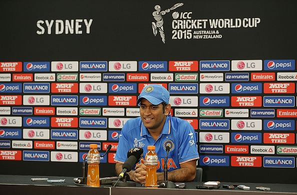 Disappointed we couldn't go into the finals: Indian captain MS Dhoni