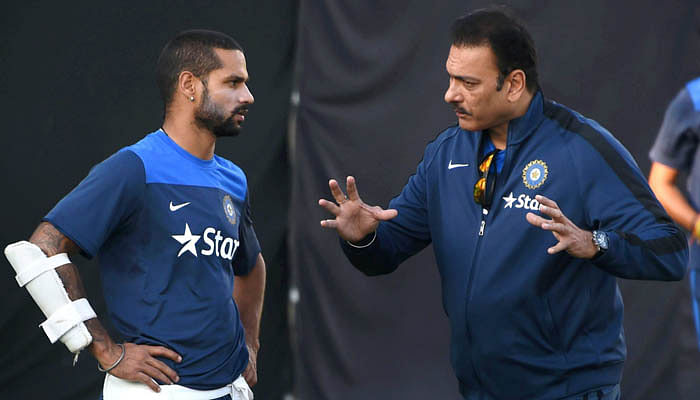 Ravi Shastri's pep talk has worked wonders for Shikhar Dhawan: Indian team official
