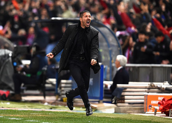 Diego Simeone praises Atletico Madrid players and fans after reaching Champions League quarterfinals