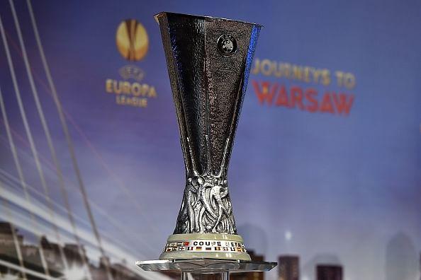 Europa league quarter final draw wolfsburg take on napoli ukrainian