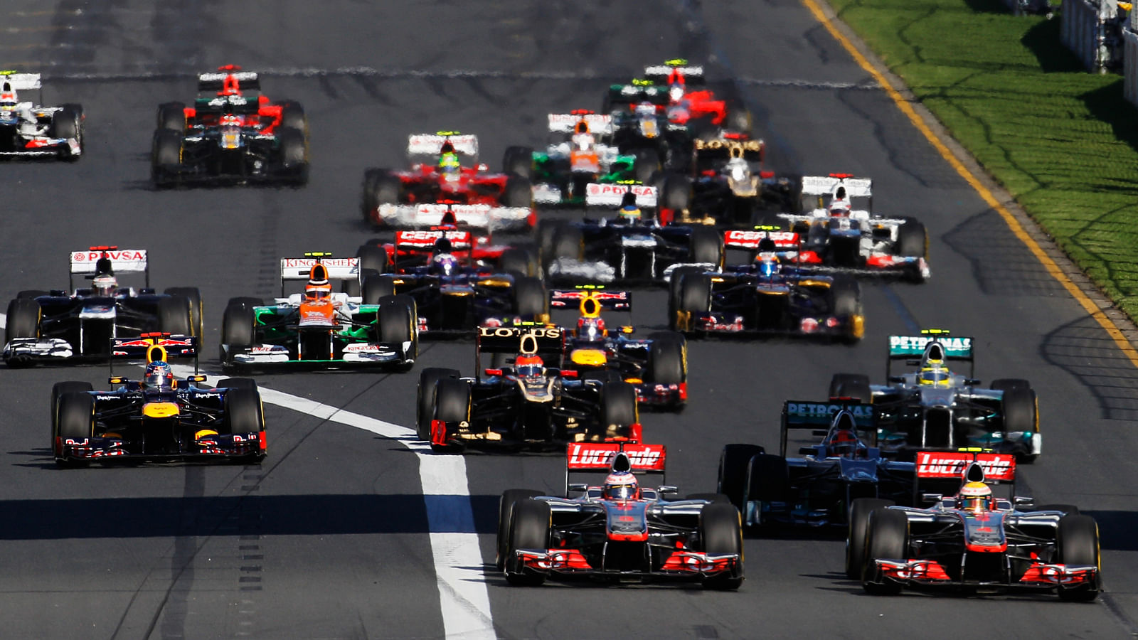 Constructor Standings Of The 2015 Formula One Season