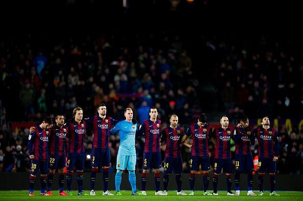 Can FC Barcelona win the treble this season?