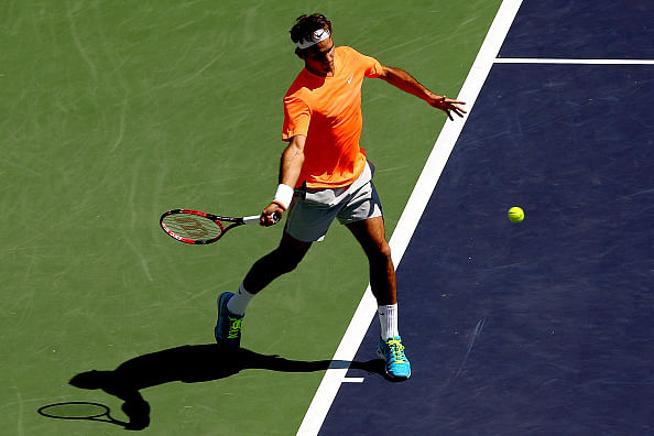 Roger Federer advances to Indian Wells semifinals