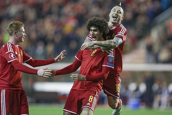 Highlights: Belgium 5-0 Cyprus, Fellaini scores twice while Hazard gets a goal for himself