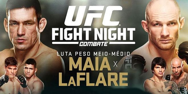 UFC Fight Night 62: Maia Vs LaFlare:  'Preview & Predictions'