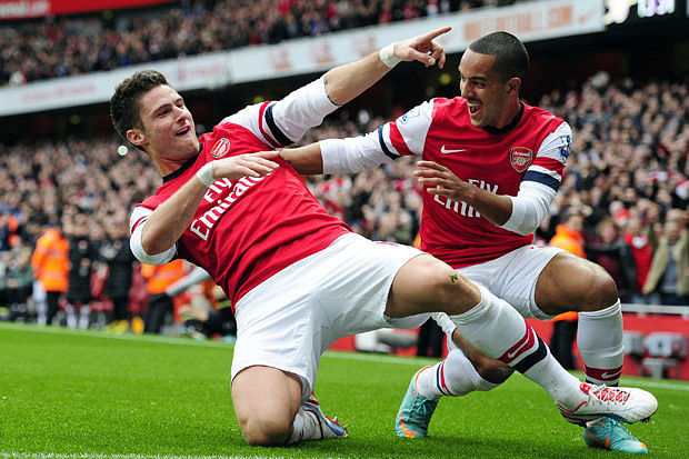 EPL Preview: QPR v Arsenal, Giroud looking to continue scoring form