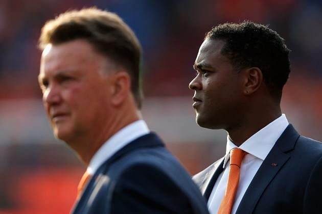 Patrick Kluivert almost joined Manchester United