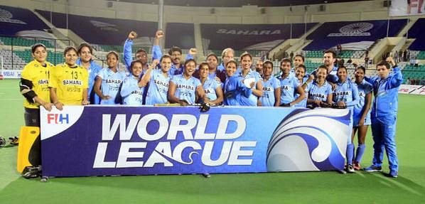 Indian women pip Poland 3-1 in World Hockey League Round 2 Finals