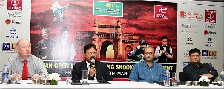 Indian Open snooker inaugurated