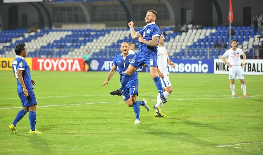 AFC Cup: Joshua Walker\'s penalty helps Bengaluru FC defeat Warriors FC 1-0