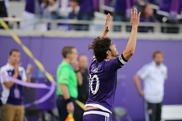 Video: Orlando City's Kaka denies New York City FC a win with a late freekick