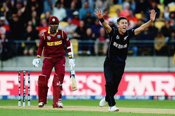 ICC World Cup 2015: New Zealand vs West Indies 4th quarter-final - Stats of the match