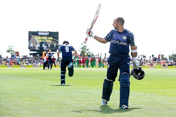 Kyle Coetzer's 156 helps Scotland set Bangladesh 319-run target
