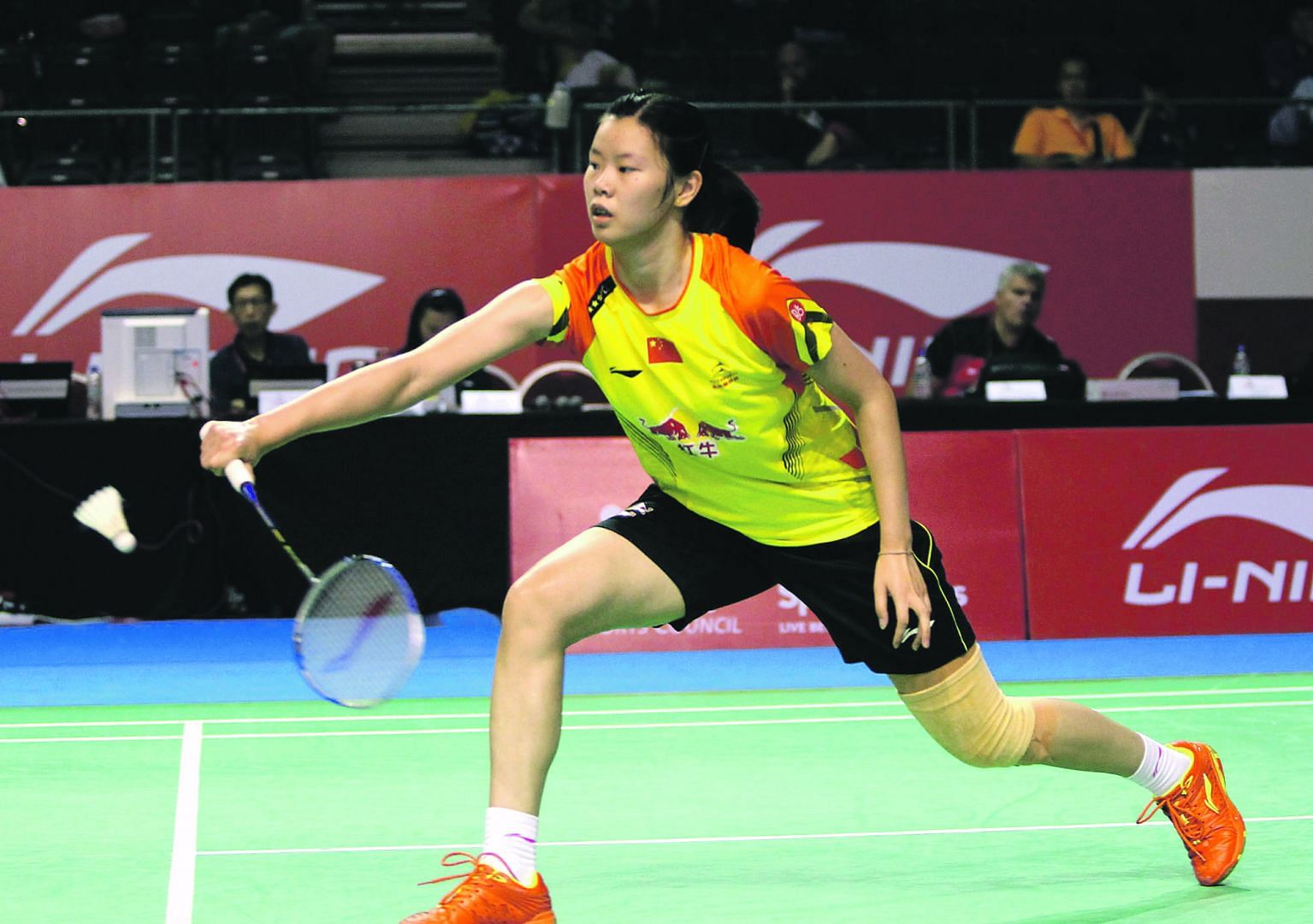 Women's top seed Li Xuerui falls at All England Championship