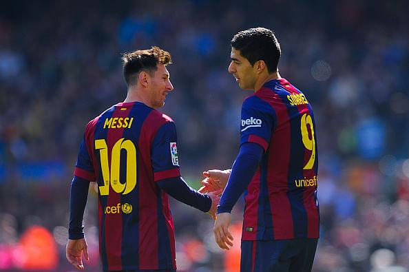 Luis Suarez: We aren't looking to help Lionel Messi beat Cristiano Ronaldo