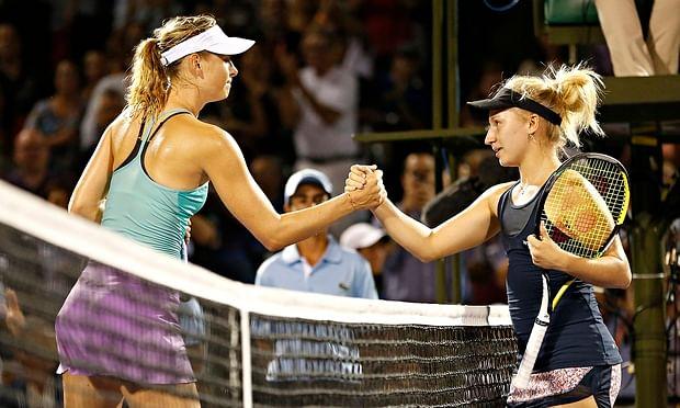 Maria Sharapova suffers early exit at Miami Open