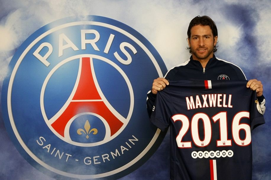 Maxwell signs contract extension with Paris Saint-Germain