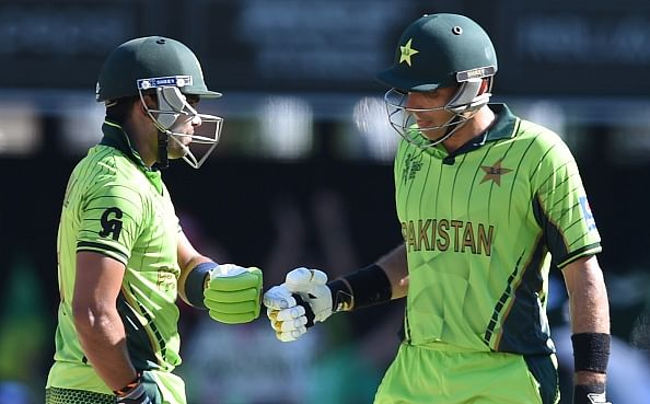 ICC Cricket World Cup: Half-centuries from Misbah-ul-Haq & Wahab Riaz lead Pakistan to competitive total