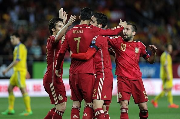 Spain boost Euro 2016 qualification chances with 1-0 win over Ukraine