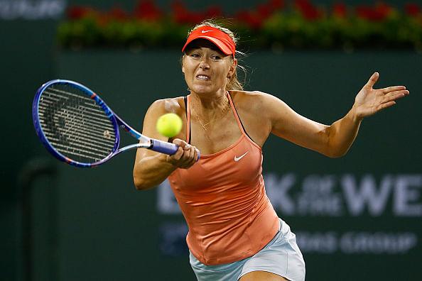 Maria Sharapova beats Victoria Azarenka on 6th match point at Indian Wells